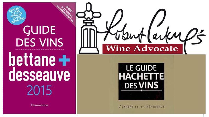 guides de vins